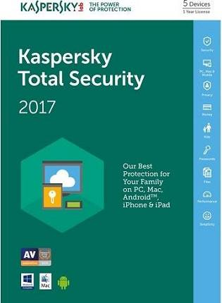 Kaspersky Total Security 2017 Free Download Full Version Key