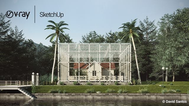 download sketchup 2018 + vray